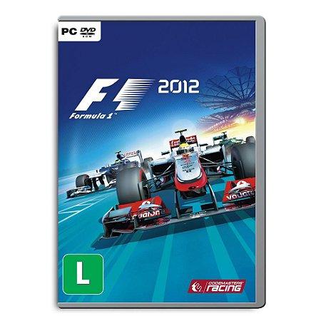 Jogo F1 2012 - PC