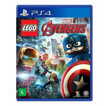 Jogo LEGO Marvel Vingadores Avengers - PS4