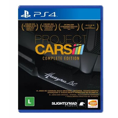 Jogo Project Cars (Complete Edition) - PS4