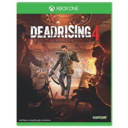 Jogo Dead Rising 4 Xbox One Midia Física