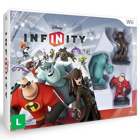 Jogo Disney Infinity Kit Inicial - Wii