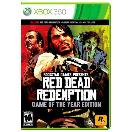 Jogo Red Dead Redemption Goty Xbox 360 e Xbox One