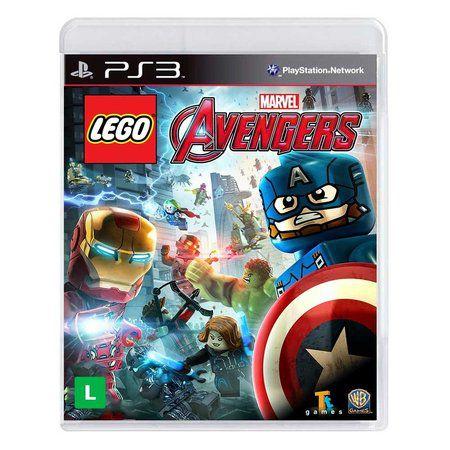 Jogo LEGO Marvel Vingadores Avengers - PS3