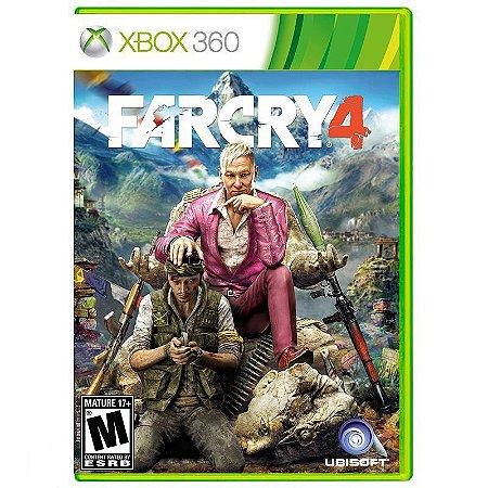 Jogo Far Cry 4 ( FarCry 4 ) - Xbox 360