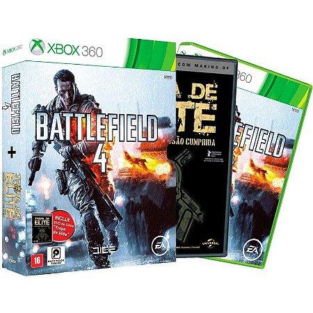 Jogo Battlefield 4 + Filme Tropa de Elite - Xbox 360