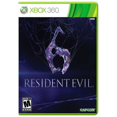 Jogo Resident Evil 6 ( Legendas em Português ) - Xbox 360