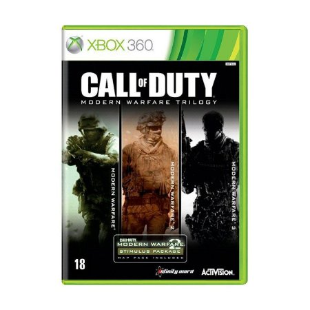 Jogo Call of Duty Trilogia do Modern Warfare - Xbox 360
