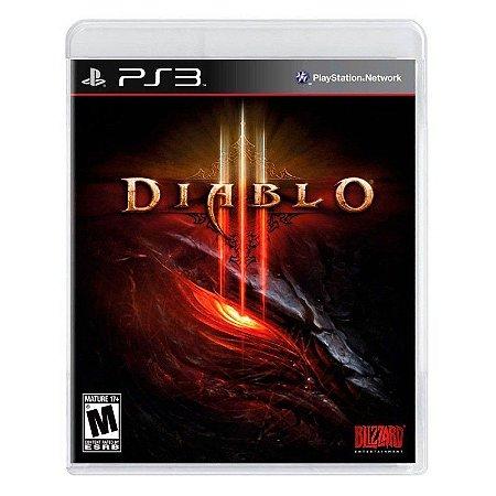 Jogo Diablo lll ( Diablo 3 ) - PS3
