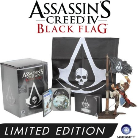 Jogo Assassin's Creed IV: Black Flag ( Limited Edition ) - PS3