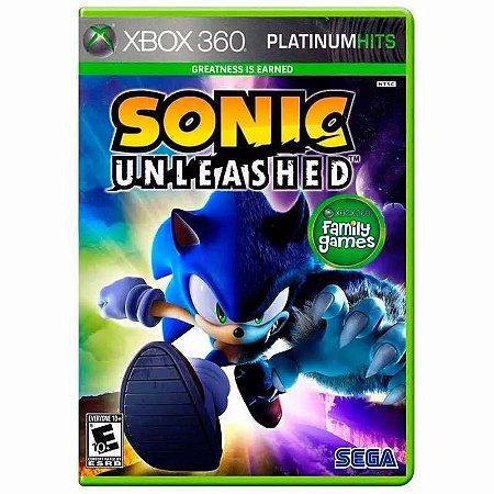 Jogo Sonic Unleashed Xbox 360 e Xbox One Midia Física