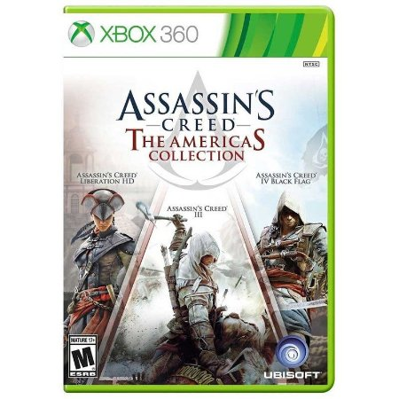 Jogo Assassins Creed The Americas Collection - Xbox 360