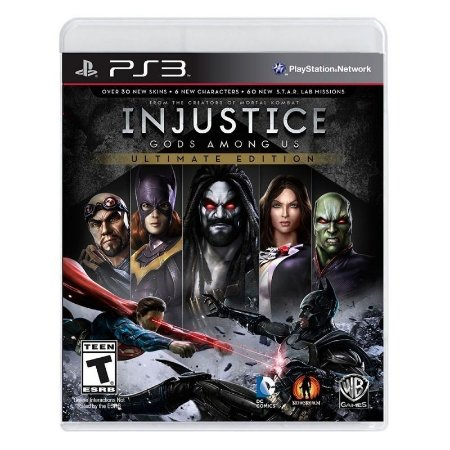 Jogo Injustice Gods Among Us (Ultimate Edition) - PS3