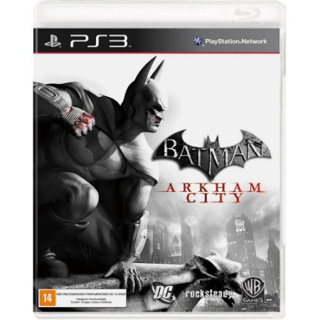 Jogo Batman: Arkham City - PS3