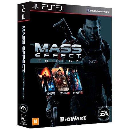 Jogo Mass Effect Trilogy - PS3