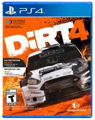 Jogo DiRT 4 Edição Day One - PS4