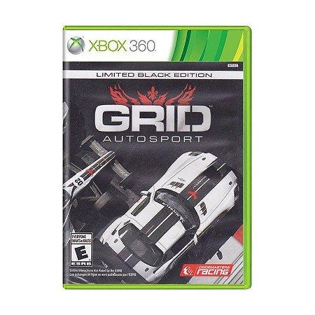 Jogo Grid Auto Sport Black Edition Xbox 360 e Xbox One