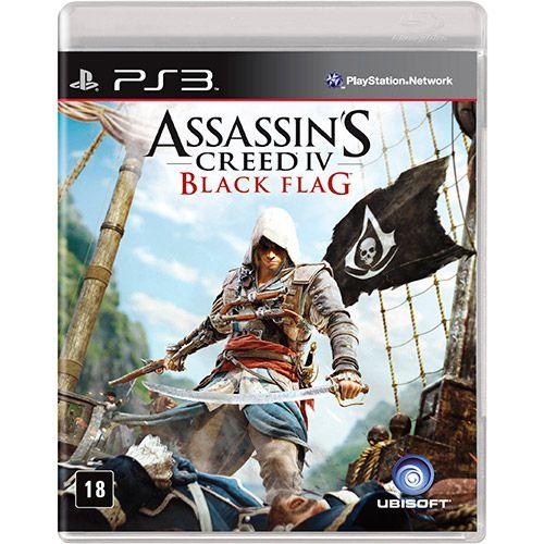 Jogo Assassins Creed IV Black Flag - PS3