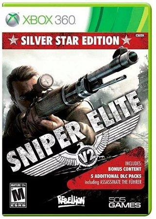 Jogo Sniper Elite V2 Silver Star Edition Xbox 360 e Xbox One
