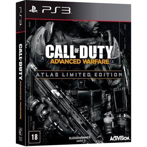 Jogo Call Of Duty Advanced Warfare Atlas Limited Edition Ps3