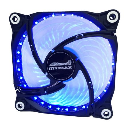 Cooler Fan 120mm Storm II - Preto LED Azul