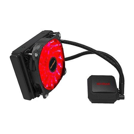 Watercooler Algor 120mm para AMD e Intel LED Vermelho