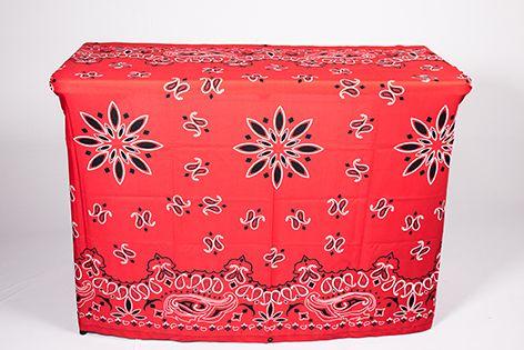 Capa Multiuso Bandana Vermelha