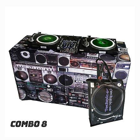COMBO 8 - Capa Multiuso Boombox + Sacola Technic-se Black