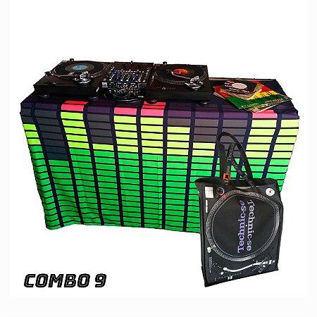 COMBO 9 - Capa Multiuso Led Digital + Sacola Technic-se Black