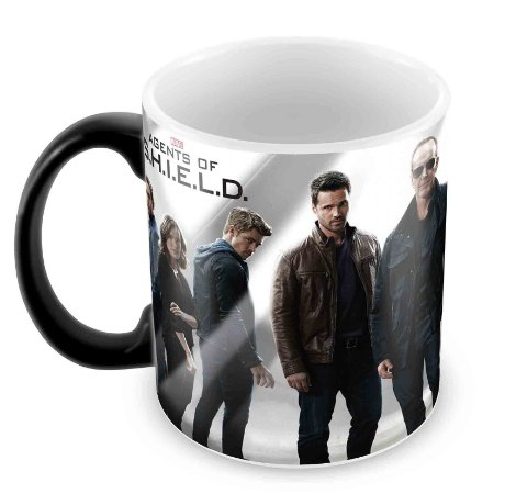Caneca Mágica  - Marvel Agents of Shield