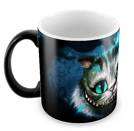 Caneca Mágica  - Gato de Cheshire