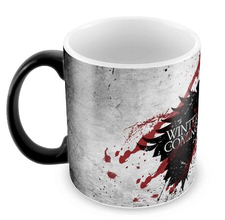 Caneca Mágica - Game of Thrones - Winter is coming