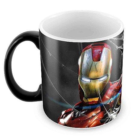 Caneca Mágica  - Homem de Ferro