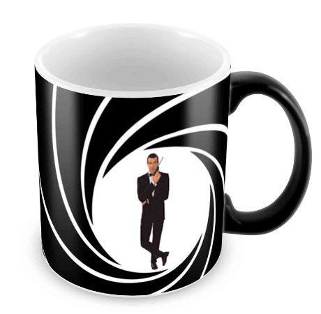 Caneca Mágica - James Bond - 007