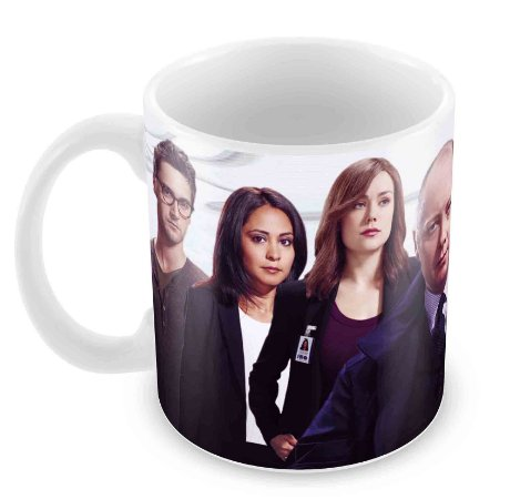 Caneca Branca - The Blacklist - Elenco