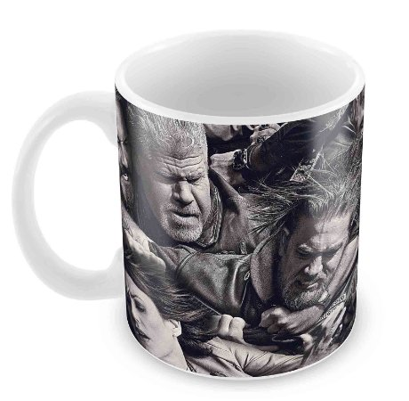 Caneca Branca - Sons of Anarchy - Fight