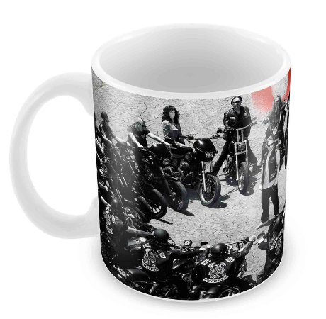 Caneca Branca - Sons of Anarchy