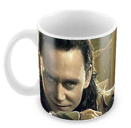 Caneca Branca - Loki