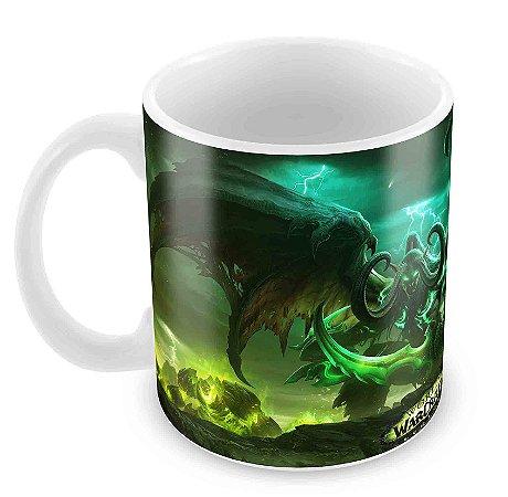 Caneca Branca - Warcraft