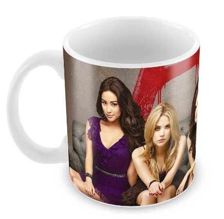 Caneca Branca - The Pretty Little Liars