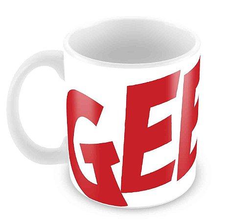 Caneca Branca - Geek