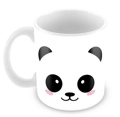 Caneca Branca - I Love Pandas