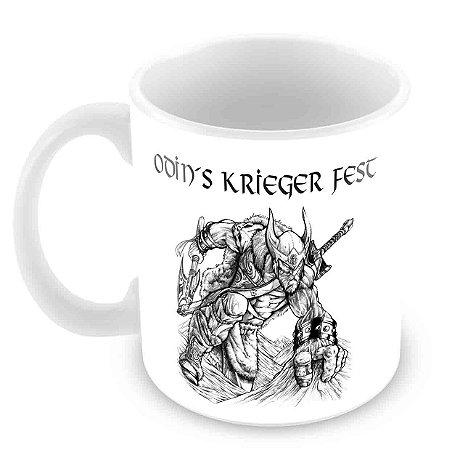 Caneca - Odin´s Krieger Fest - Warrior