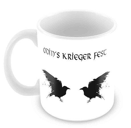 Caneca Odin´s Krieger Fest - Corvos