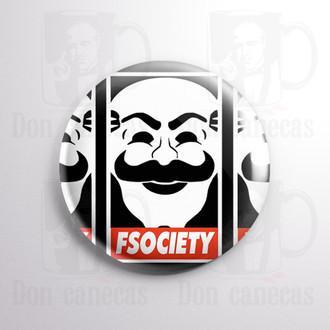 Botton - Mr Robot - FSociety