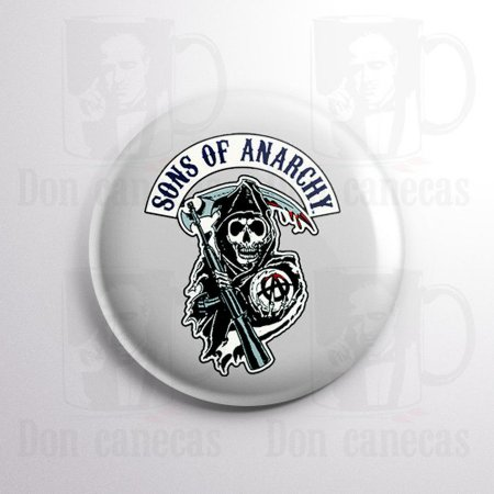 Botton - Sons of Anarchy - Logo