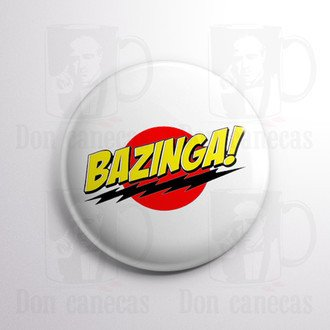 Botton - The Big Bang Theory - Bazinga