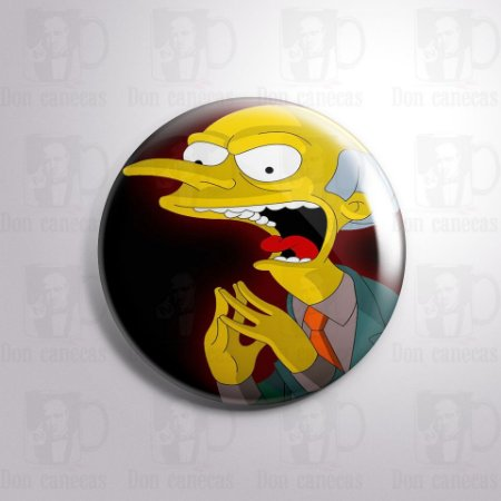 Botton - Simpsons - Montgomery Burns