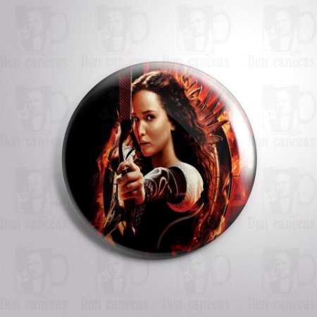 Botton - Jogos Vorazes - Katniss Everdeen
