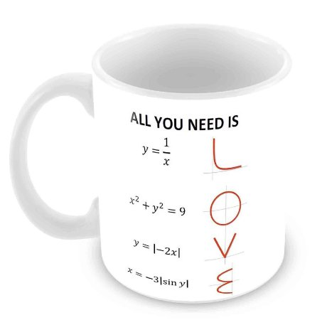 Caneca Branca - All You Need is Love