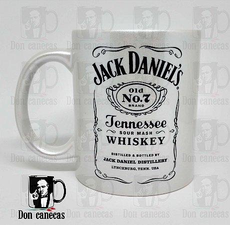 Caneca Prateada - Jack Daniel's